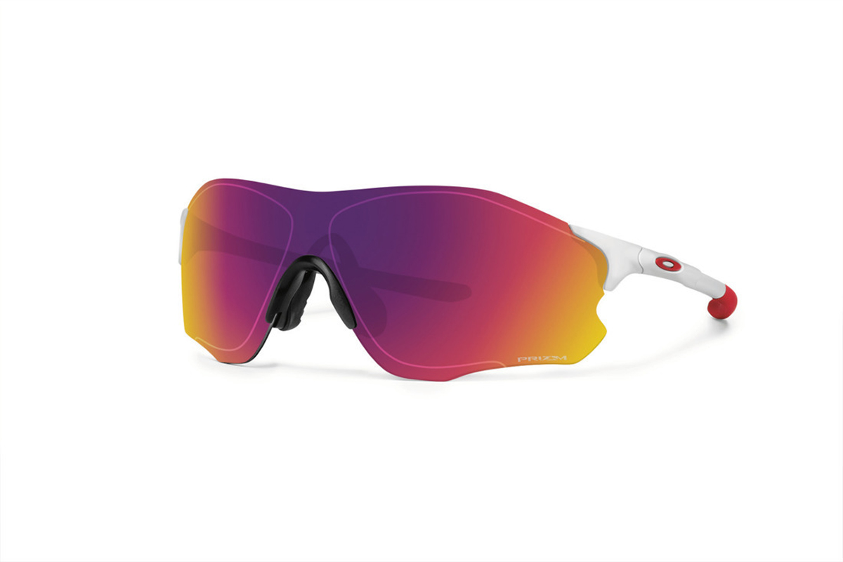 oakley ev zero path prizm sunglasses pictures cyclist. Black Bedroom Furniture Sets. Home Design Ideas