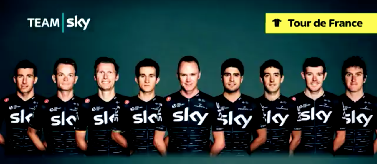 Team Sky  Tour De France Squad