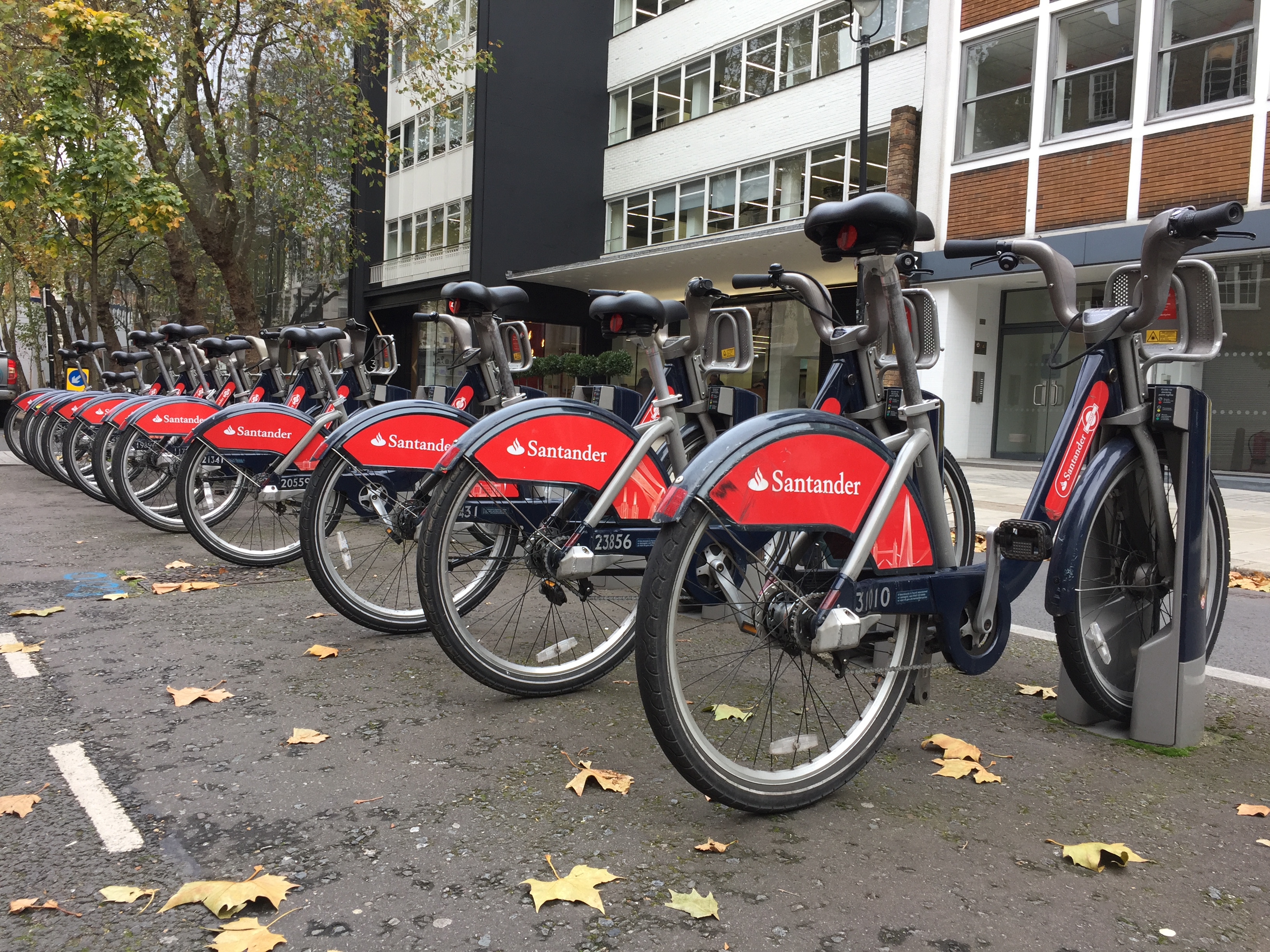 Santander Public Hire Bikes Will Be Available In Brixton