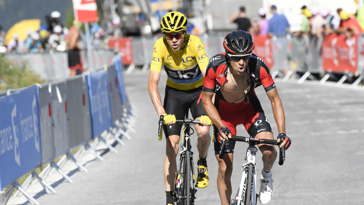 Porte shines on Dauphine time trial as Froome disappoints