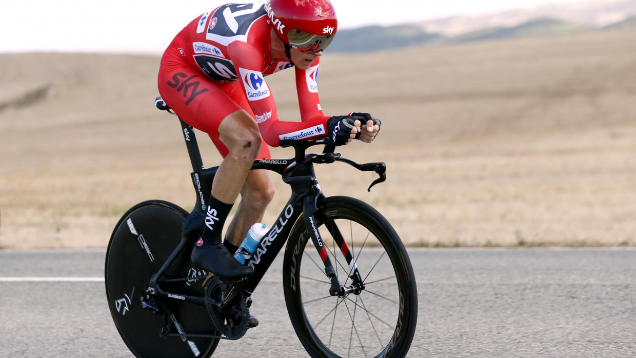 Vuelta A Espana 2017 Chris Froome Wins Stage 16 Time Trial To