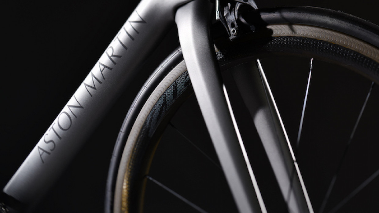 Aston Martin Creates Limited-Edition Bicycle