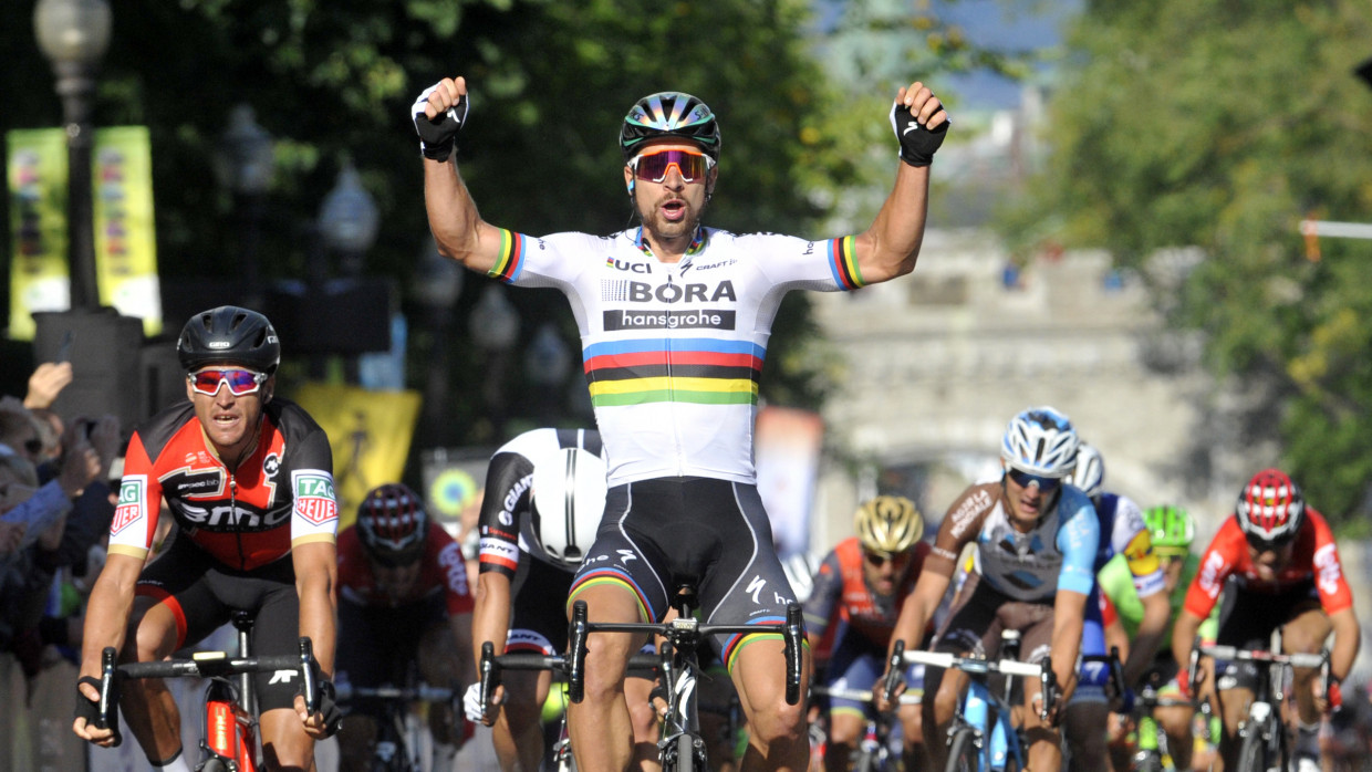 Gent-Wevelgem: Peter Sagan claims record-equalling third title in Belgian race