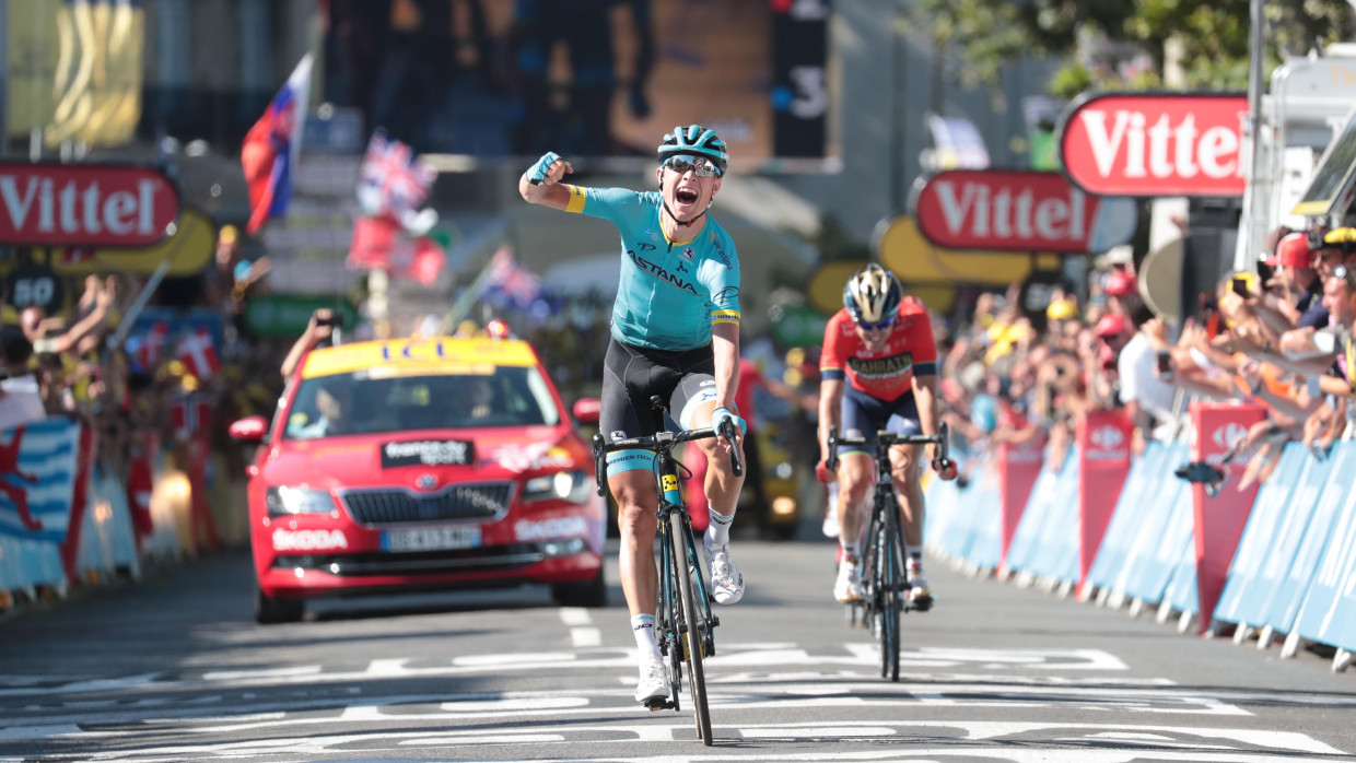 Nielsen wins 15th stage, Thomas still in Tour de France yellow