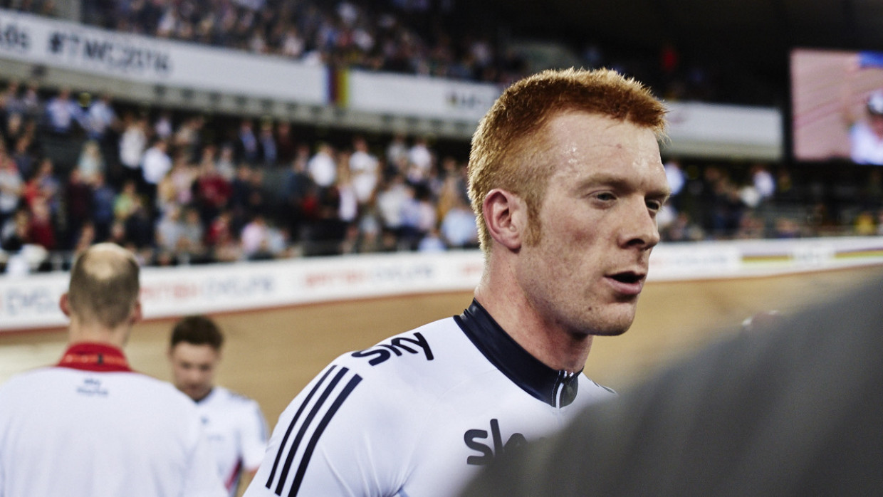 Ed Clancy, London 2016 World Track Championships
