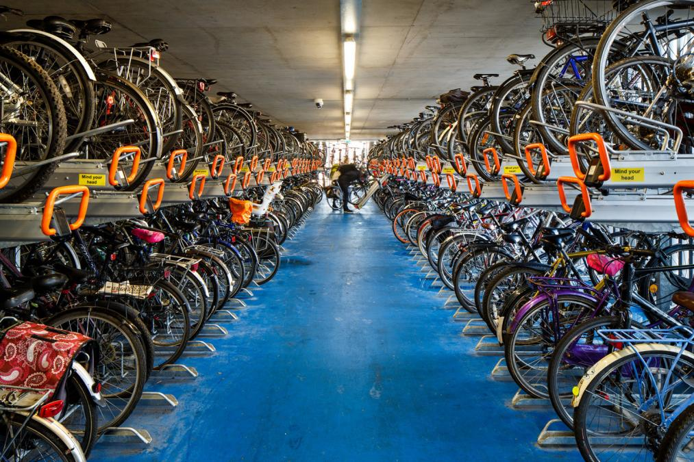 The Uk S Largest Cycle Parking Hub Can Take Almost 3 000