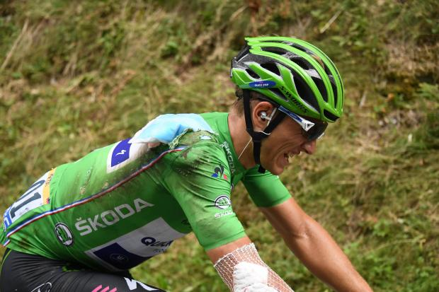 Dan Martin falls to seventh as Michael Matthews claims Stage 16